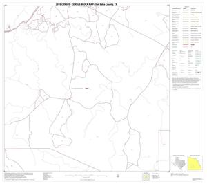 Primary view of object titled '2010 Census County Block Map: San Saba County, Block 14'.