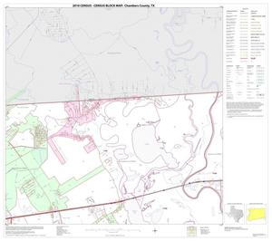 Primary view of object titled '2010 Census County Block Map: Chambers County, Block 2'.