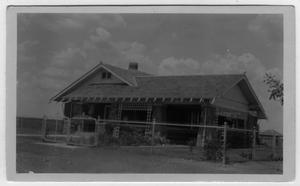 Primary view of object titled '[Ben C. Peterson Farm House in the Justin-Roanoke area]'.