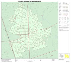 Primary view of object titled '2010 Census County Block Map: Montgomery County, Inset D01'.