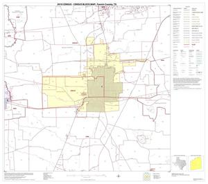 Primary view of object titled '2010 Census County Block Map: Fannin County, Block 9'.