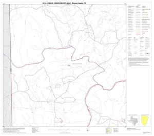 Primary view of object titled '2010 Census County Block Map: Blanco County, Block 5'.
