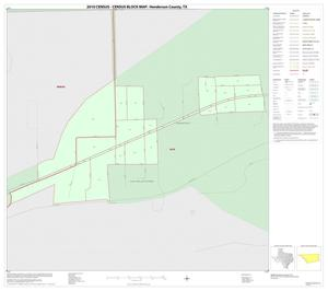 Primary view of object titled '2010 Census County Block Map: Henderson County, Inset F01'.