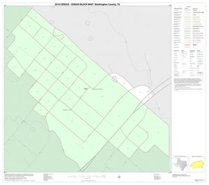 Primary view of object titled '2010 Census County Block Map: Washington County, Inset A01'.