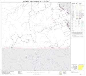 Primary view of object titled '2010 Census County Block Map: Edwards County, Block 37'.