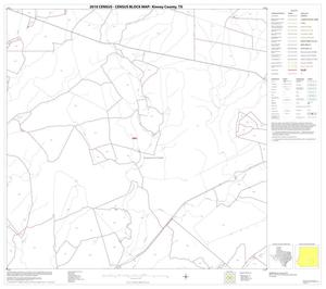 Primary view of object titled '2010 Census County Block Map: Kinney County, Block 20'.