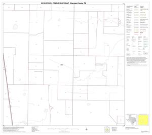 Primary view of object titled '2010 Census County Block Map: Sherman County, Block 10'.