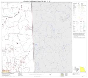 Primary view of object titled '2010 Census County Block Map: Van Zandt County, Block 14'.