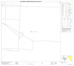 Primary view of object titled '2010 Census County Block Map: El Paso County, Block 71'.