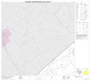 Primary view of object titled '2010 Census County Block Map: Karnes County, Block 4'.