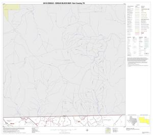 Primary view of object titled '2010 Census County Block Map: Kerr County, Block 11'.