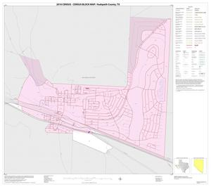 Primary view of object titled '2010 Census County Block Map: Hudspeth County, Inset D01'.