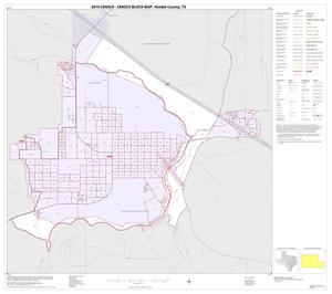 Primary view of object titled '2010 Census County Block Map: Kimble County, Inset B01'.