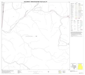 Primary view of object titled '2010 Census County Block Map: Real County, Block 10'.