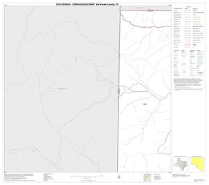 Primary view of object titled '2010 Census County Block Map: Val Verde County, Block 1'.