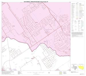 Primary view of object titled '2010 Census County Block Map: Harris County, Block 53'.