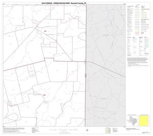 Primary view of object titled '2010 Census County Block Map: Runnels County, Block 8'.