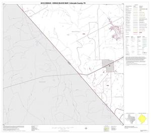 Primary view of object titled '2010 Census County Block Map: Colorado County, Block 19'.