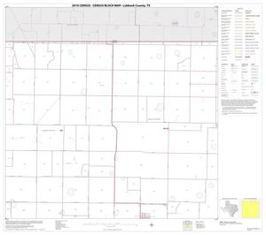 Primary view of object titled '2010 Census County Block Map: Lubbock County, Block 3'.
