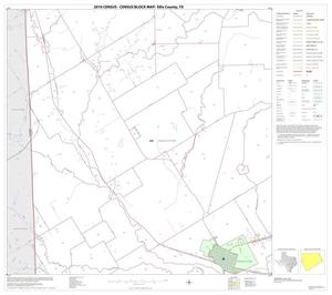 Primary view of object titled '2010 Census County Block Map: Ellis County, Block 14'.