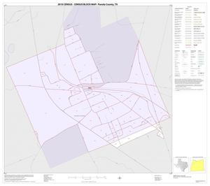 Primary view of object titled '2010 Census County Block Map: Panola County, Inset A01'.