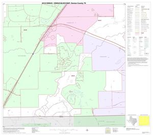 Primary view of object titled '2010 Census County Block Map: Denton County, Block 83'.
