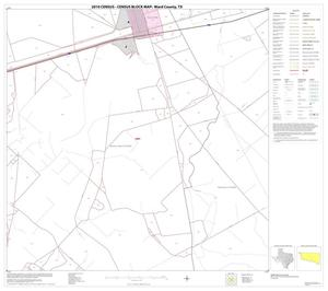 Primary view of object titled '2010 Census County Block Map: Ward County, Block 10'.