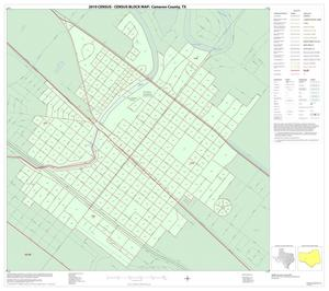Primary view of object titled '2010 Census County Block Map: Cameron County, Inset M01'.