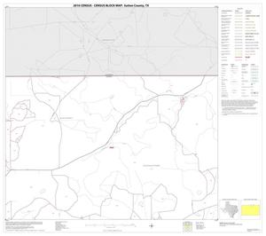 Primary view of object titled '2010 Census County Block Map: Sutton County, Block 4'.
