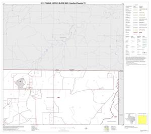Primary view of object titled '2010 Census County Block Map: Hansford County, Block 3'.