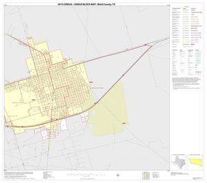Primary view of object titled '2010 Census County Block Map: Ward County, Inset C02'.