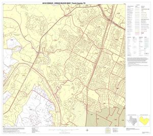 Primary view of object titled '2010 Census County Block Map: Travis County, Block 25'.