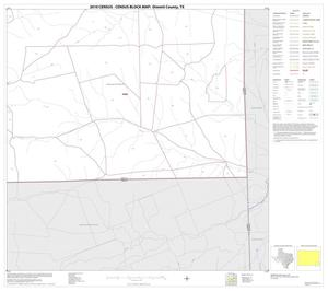 Primary view of object titled '2010 Census County Block Map: Dimmit County, Block 20'.