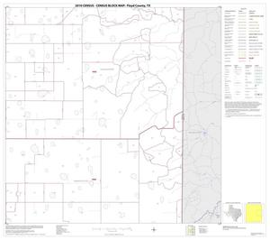 Primary view of object titled '2010 Census County Block Map: Floyd County, Block 6'.