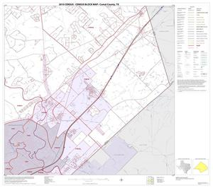 Primary view of object titled '2010 Census County Block Map: Comal County, Block 11'.
