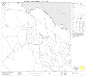 Primary view of object titled '2010 Census County Block Map: Pecos County, Block 32'.