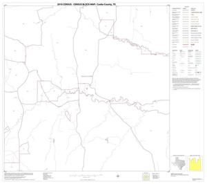 Primary view of object titled '2010 Census County Block Map: Cooke County, Block 9'.