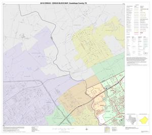 Primary view of object titled '2010 Census County Block Map: Guadalupe County, Block 7'.