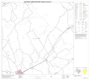 Primary view of object titled '2010 Census County Block Map: Robertson County, Block 10'.