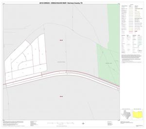 Primary view of object titled '2010 Census County Block Map: Harrison County, Inset C01'.