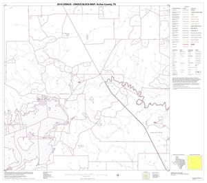 Primary view of object titled '2010 Census County Block Map: Archer County, Block 6'.
