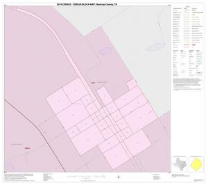 Primary view of object titled '2010 Census County Block Map: Bastrop County, Inset B01'.