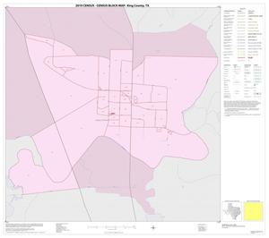 Primary view of object titled '2010 Census County Block Map: King County, Inset A01'.