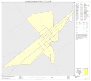Primary view of object titled '2010 Census County Block Map: Duval County, Inset D01'.