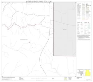 Primary view of object titled '2010 Census County Block Map: Real County, Block 13'.