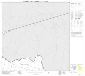 Primary view of object titled '2010 Census County Block Map: Reeves County, Block 20'.