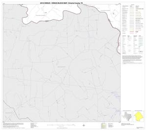 Primary view of object titled '2010 Census County Block Map: Victoria County, Block 9'.