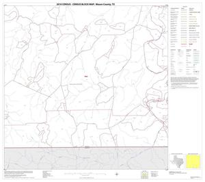 Primary view of object titled '2010 Census County Block Map: Mason County, Block 15'.