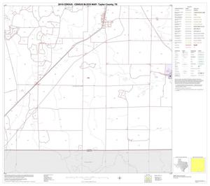 Primary view of object titled '2010 Census County Block Map: Taylor County, Block 15'.