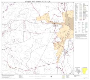 Primary view of object titled '2010 Census County Block Map: Burnet County, Block 12'.